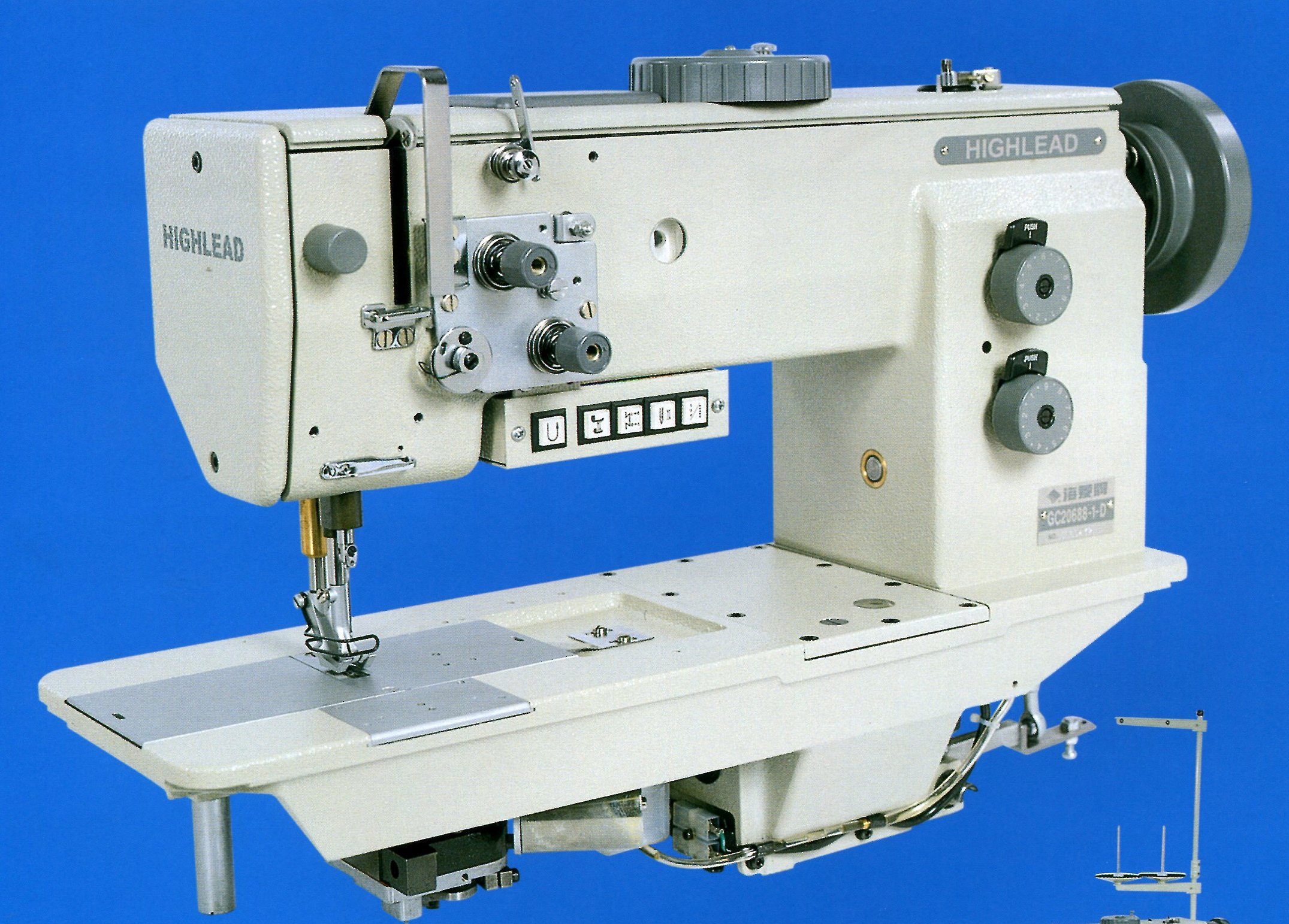 Highlead GC20688 Heavy Duty Sewing Machine